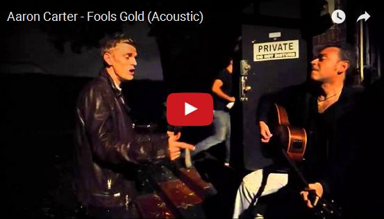 Watch: Aaron Carter - Fools Gold (Acoustic) See lyrics here: http://aaroncarterlyrics.blogspot.com/2016/02/fools-gold-lyrics-aaron-carter.html #lyricsdome