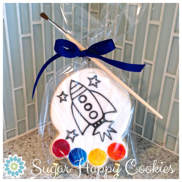 Paint-Your-Own Cookie, sugar cookies, kids party favors
