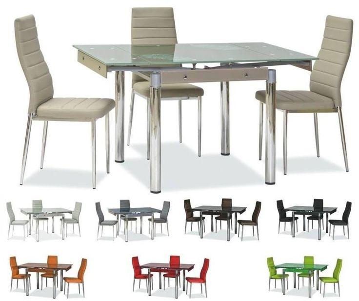 🌸 Mutatós és fiatalos.🌸 Bővíthető étkezőasztal krém, narancs, bronz, fekete, szürke, zöld tea, lila, sötét bézs, és piros színekben.