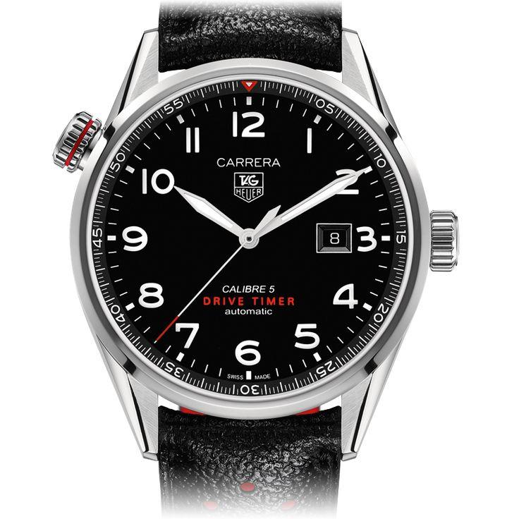 TAG Heuer TAG Heuer CARRERA CALIBRE 5 Drive Timer Relógio Automático  43 mm