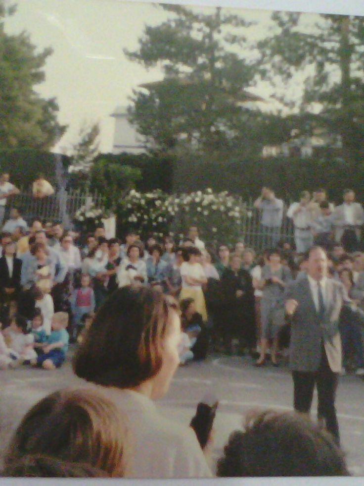 A Brindisi, primo intervento musicale presso il Circolo Marinaio d'Italia