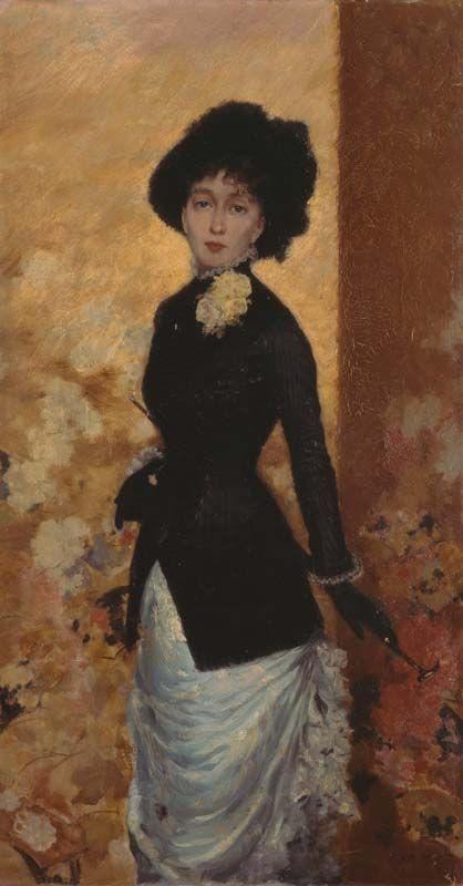 Giuseppe De Nittis, figura di donna