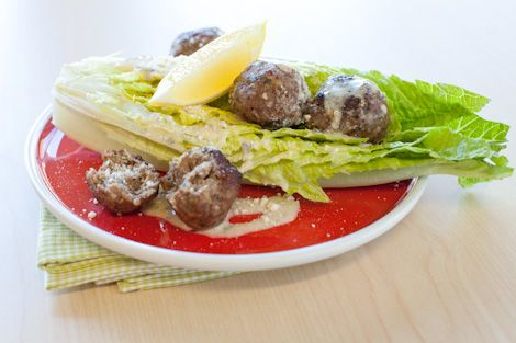 Epicure's Meatball Caesar