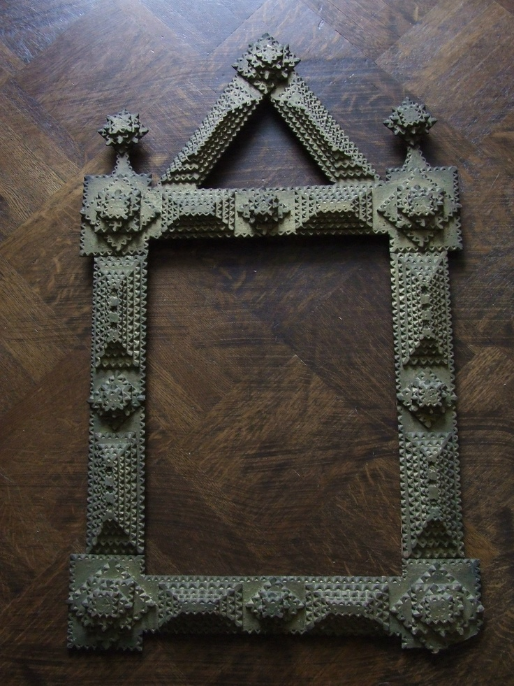 ANTIQUE TRAMP ART FRAME GERMANY AROUND 1900 | eBay