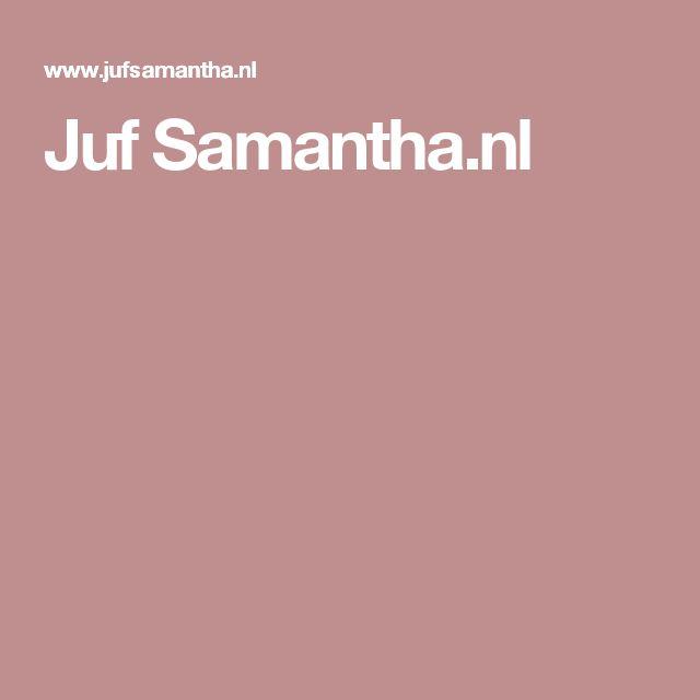 Juf Samantha.nl