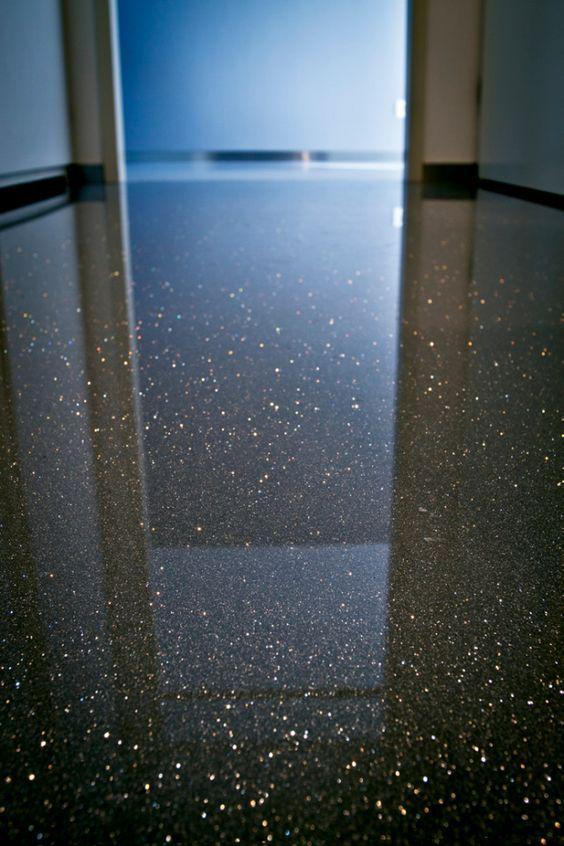 Gietvloer Met Glitters Diy Pinterest Floors Met