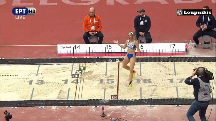 Βελιγράδι: Χάλκινο μετάλλιο η Βούλα Παπαχρήστου με 14.24μ. (Ολες οι προσ...