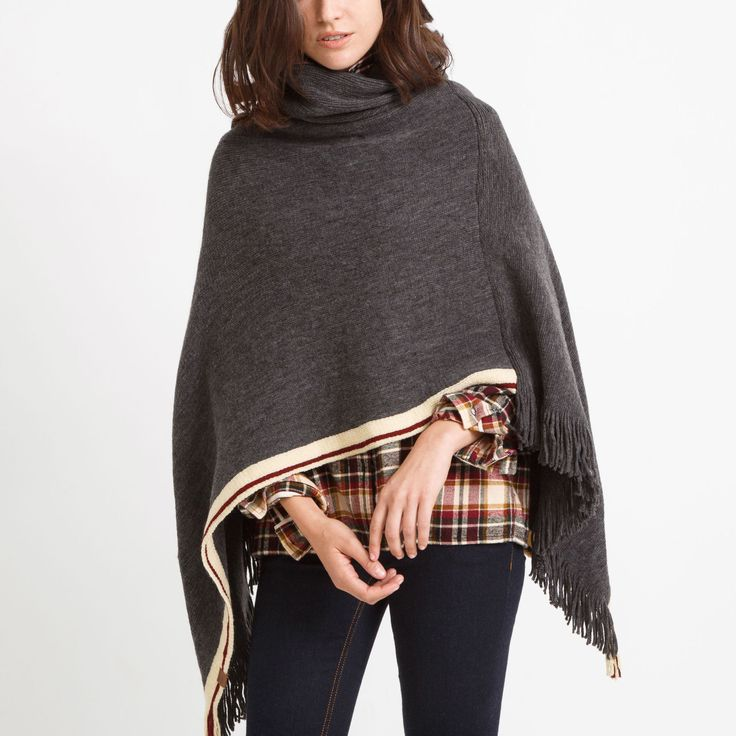 Womens Cabin Poncho Roots Roots Canada Poncho Outfit