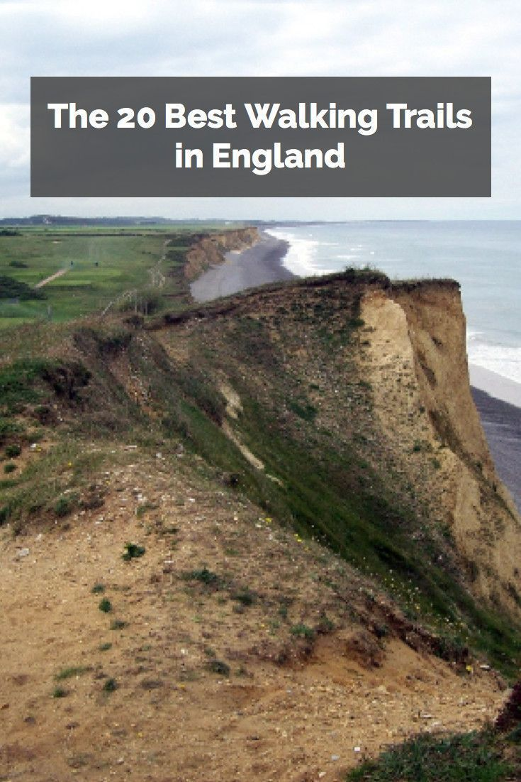 Take a long walk along England's scenic coastal trails and find some of the most spectacular scenery in the UK.