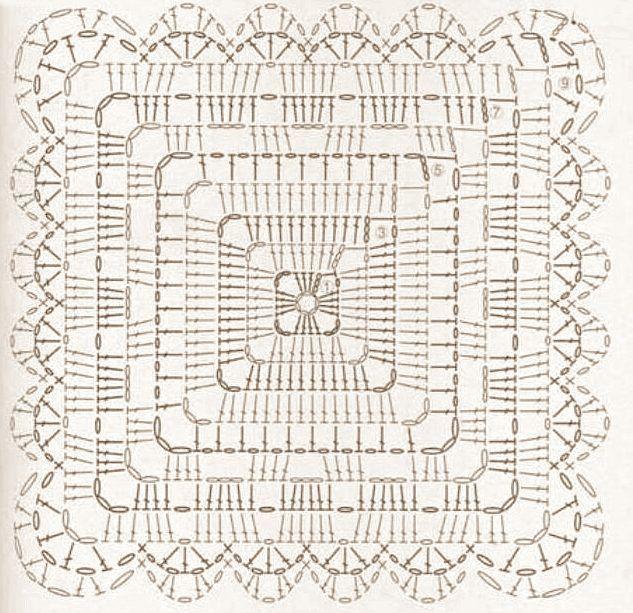 Piastrella quadrata per copertine o strisce da tavolo i