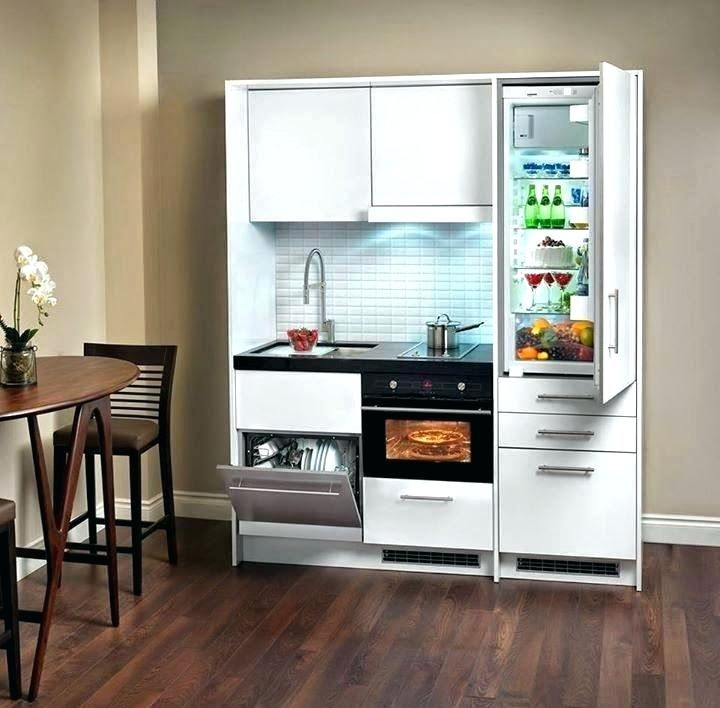 Fridge Oven Dishwasher Combo Kitchen Cabinet Storage Units