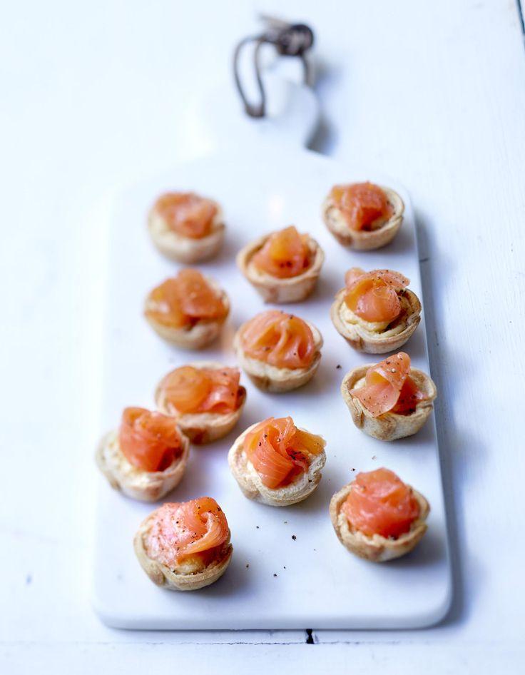 Cup saumon et Boursin au poivre pour 6 personnes - Recettes - Elle