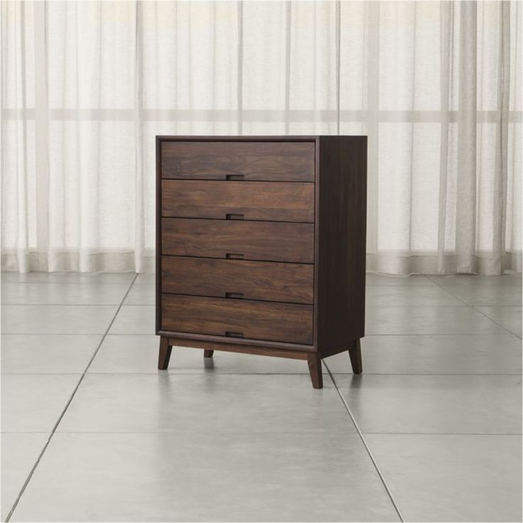 Steppe 5-Drawer Chest | Crate and Barrel