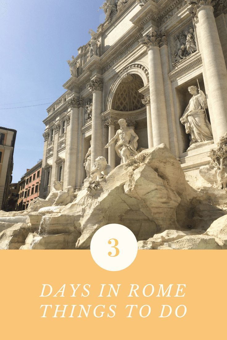 Rome may sound like a mainstream destination, but trust me – it's a classic and definitely a must-see! Even if you're not into old ruins and 'stones' – which are…