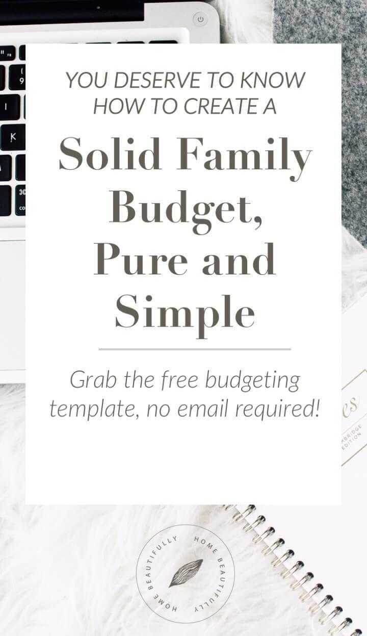 Budget for Home  http://www.homebeautifully.com
