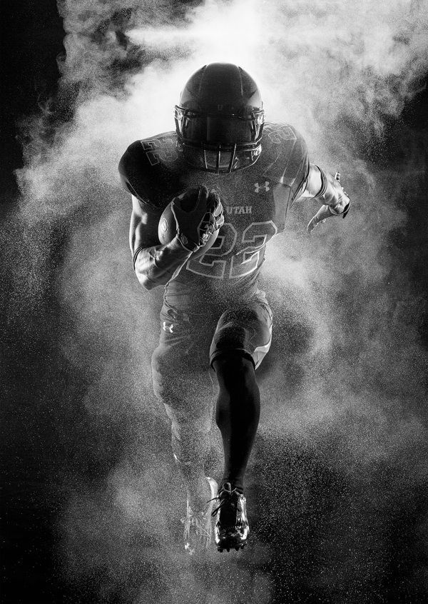 University Of Utah Football Hall Of Fame Photography On Behance Football American University Of Utah Football Football Photography Football Senior Pictures