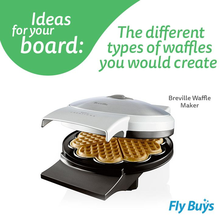 Breville Waffle maker  #320pts #flybuysnz