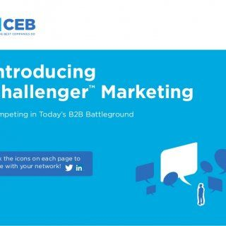 1 Competing in Today's B2B Battleground Click the icons on each page to share with your network! Introducing Challenger™ Marketing   2 B2B buying will nev. http://slidehot.com/resources/introducing-challenger-marketing.27269/