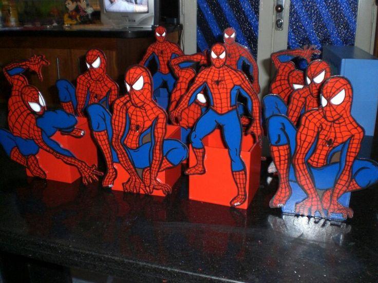 Cotillones de hombre araña