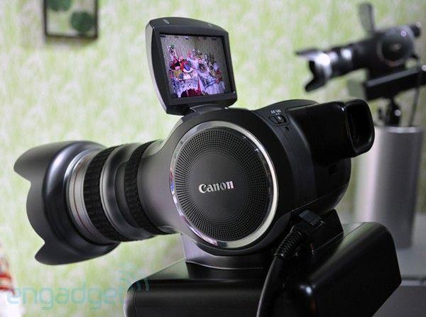 Canon's 4k Multipurpose Camera concept weakens knees, shoots video. We go hands-on! (Video)