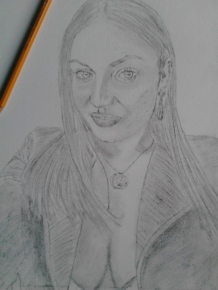 Schita,model feminin. ////   Sketch, female model.
