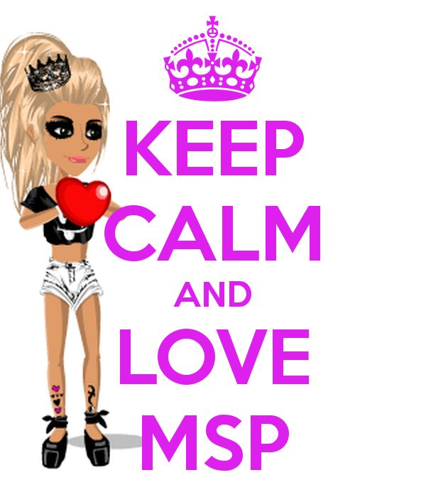 Keep Calm And Love MSP Another Original Poster Design Created With The O Matic Buy This Or Create Your Own Now