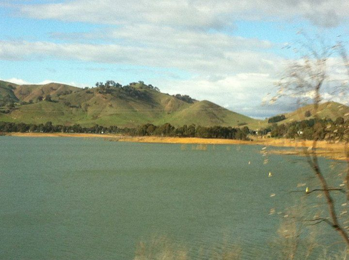 Lake Eldin on way to Yarra Valley
