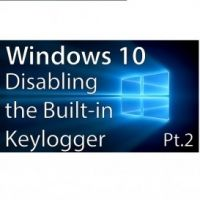 The keylogger is not planted in the Windows 10 to steal your important financial information and or personal information such as card number, website credentials or others.