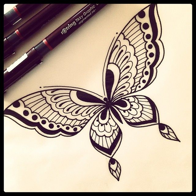 Prepping for the week ahead. #tattoo #tattoodesign #design #drawing #sketch #butterfly #mehndi #domholmestattoo