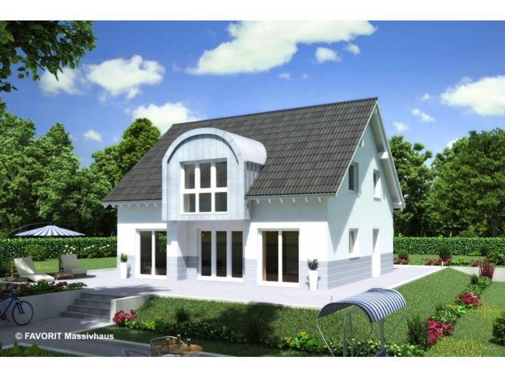 Massivhaus modern satteldach  Chalet 135 - #Einfamilienhaus von Bau Braune Inh. Sven Lehner ...