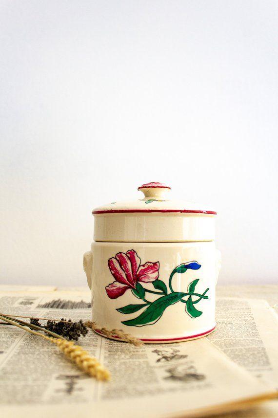Foie Gras Lidded Ceramic Jar From Sarreguemines Ceramic Terrine