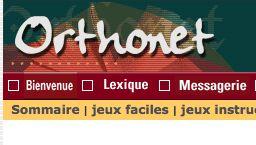 Orthonet - Exercices français en ligne | Exercice francais ...