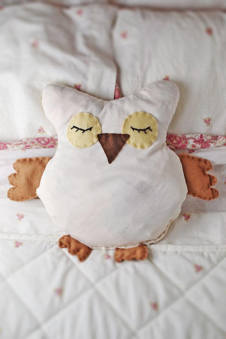 Owl crafts baby bedding nursery decor nursery crafts forward pink owl - Diy Heatable Owl Softie