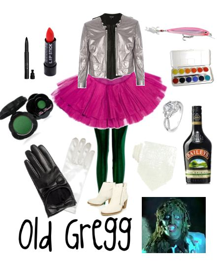 For Joey:  Old Gregg… outfit.  If you don't know what Old Gregg is.  HALOWEEN COSTUME THIS YEAR?!