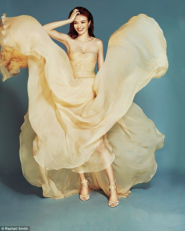 DRESS, Maria Lucia Hohan, from Fenwick. SANDALS, Bionda Castana. RINGS, Shaun Leane. EARRINGS, Kasun London