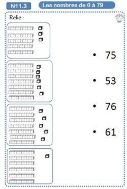 Associer une quantité à un nombre
