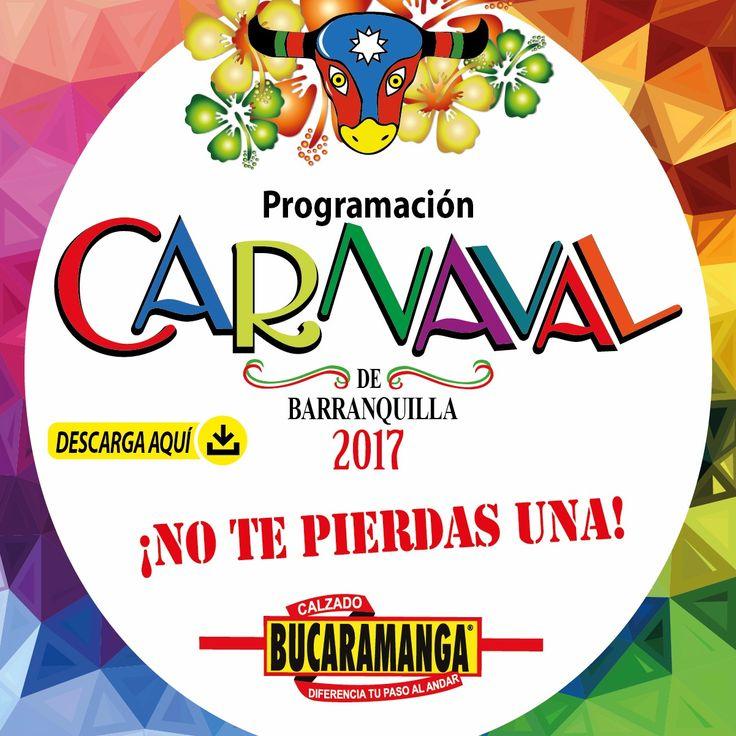 Descarga aquí toda la #programación del #Carnaval de #Barranquilla 2017.  Calzado Bucaramanga se goza el Carnaval desde ya.  http://www.calzadobucaramanga.com/web/noticias-y-eventos/   #CarnavalDeBarranquilla2017 #CarnavalDeBarranquilla #beautiful #fashion #follow #cool #party #friends #love #style #shoes #look #happy #family #fam #hollyday