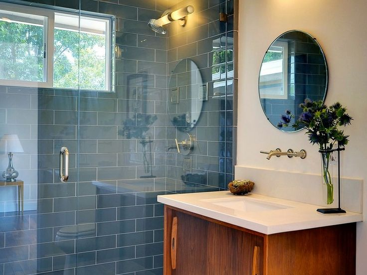 Photo Of Browse the options for midcentury modern bathrooms plus check out great pictures from HGTV Remodels