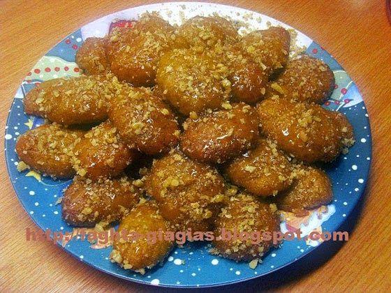 Συνταγές φαγητών: Μελομακάρονα αφράτα