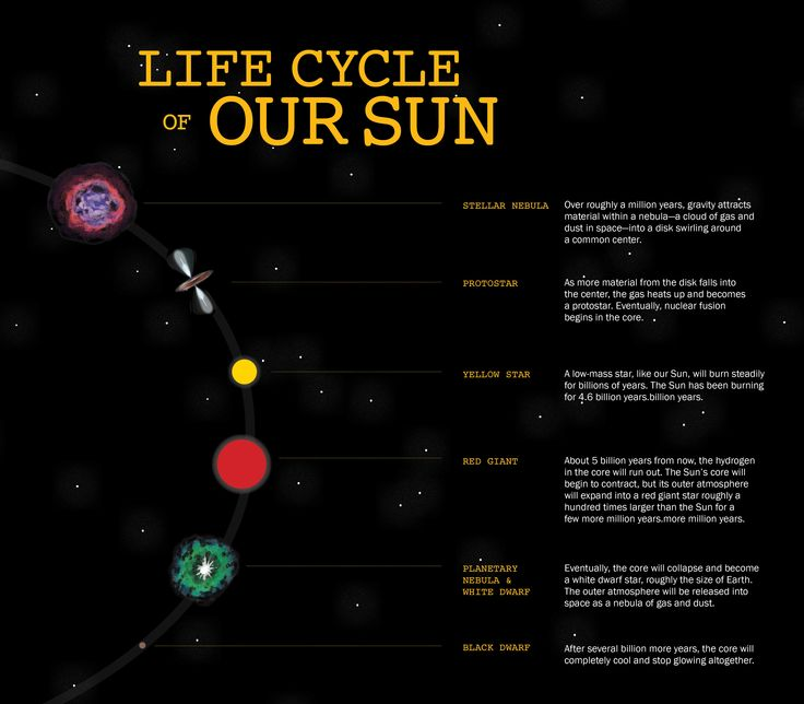 The metamorphosis of our Sun from a main sequence star to a red giant ...
