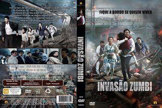Base Capas 1: Invasão Zumbi - Capa Filme DVD