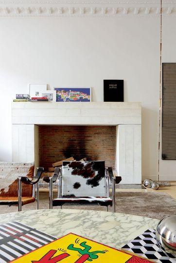 13 best Cheminées images on Pinterest Fire places, For the home - renovation electricite maison ancienne