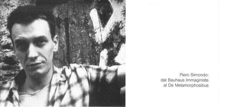 Piero Simondo: Monotipi, Ipocasuali, Polittici,  mostra personale,  Studio B2,  maggio-giugno 2004
