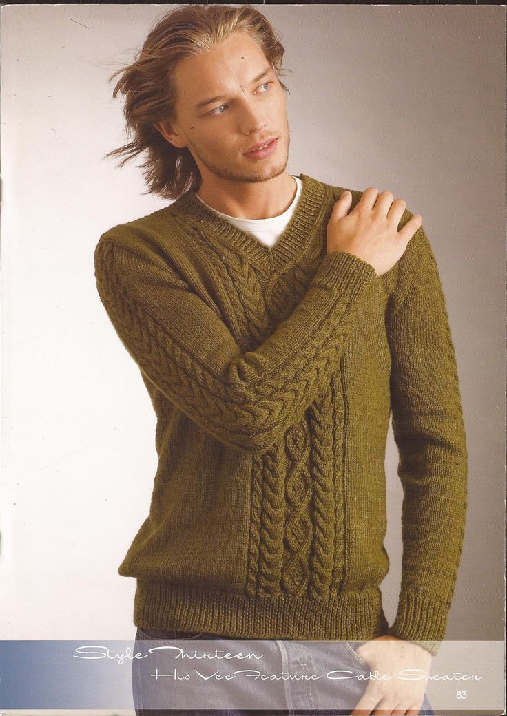 Arm Knitting Sweater Patterns : Best hand knit v neck sweaters images on pinterest