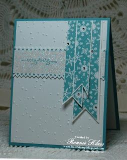Always Playing with Paper: Merry Monday Christmas Card Challenge #56-{Season's Greetings}