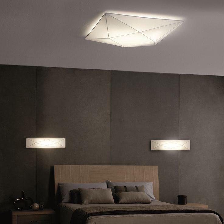 Colgantes iluminacion lamparas de bajo consumo lampara for Plafones pared dormitorio