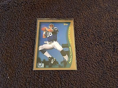 cool 1998 TOPPS PEYTON MANNING ROOKIE CARD RC 360 ROOKIE REPRINT 2012 COLTS - For Sale View more at http://shipperscentral.com/wp/product/1998-topps-peyton-manning-rookie-card-rc-360-rookie-reprint-2012-colts-for-sale/