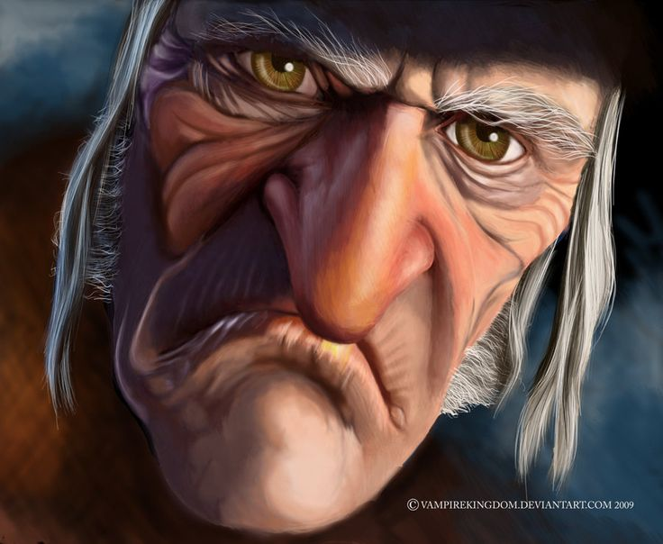 Ebenezer Scrooge - By vampirekingdom.deviantart.com