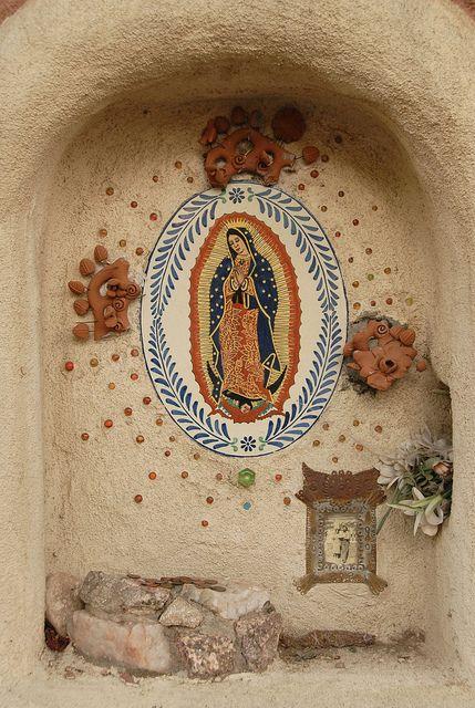Nuestra Señora de Guadalupe... santa fe