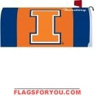 University of Illinois Mailbox Cover